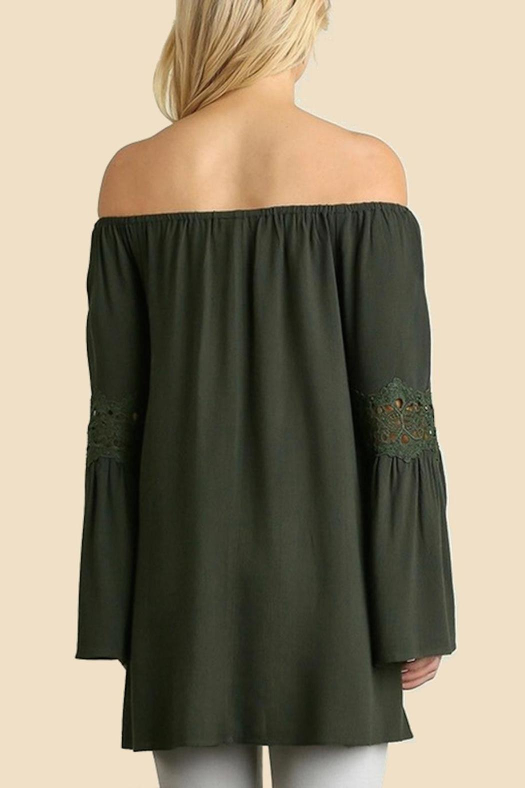 People Outfitter Off Shoulder Top - Side Cropped Image