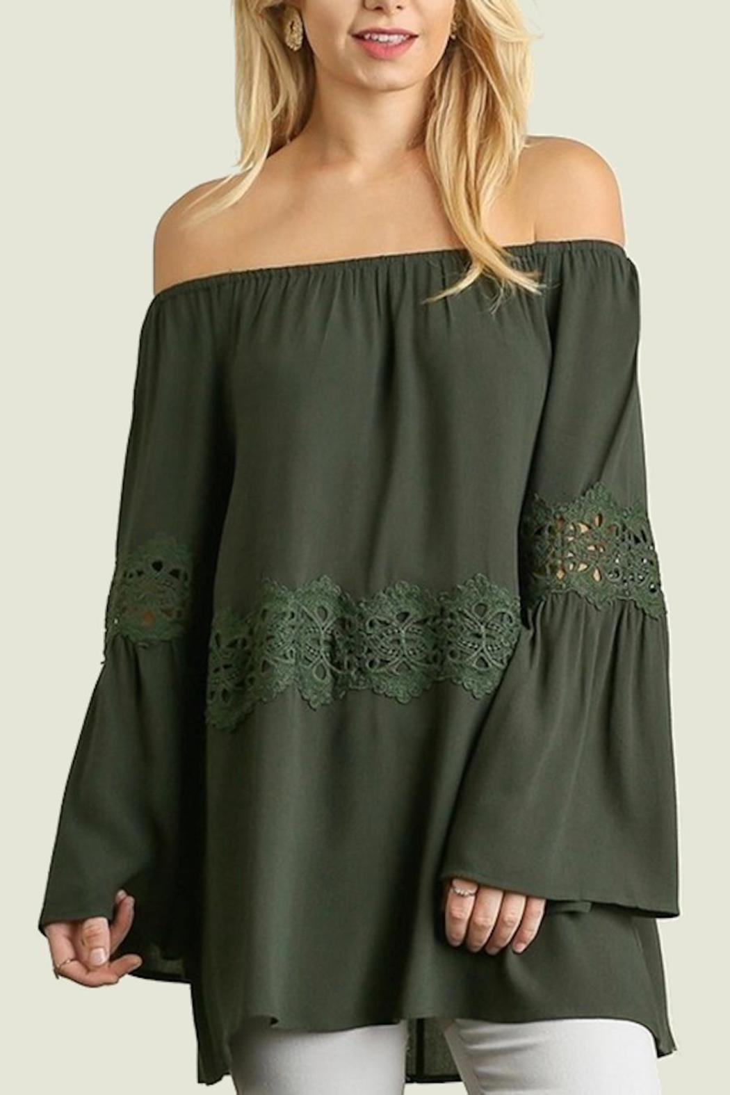 People Outfitter Off Shoulder Top - Main Image