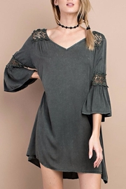People Outfitter Oil Washed Dress - Product Mini Image