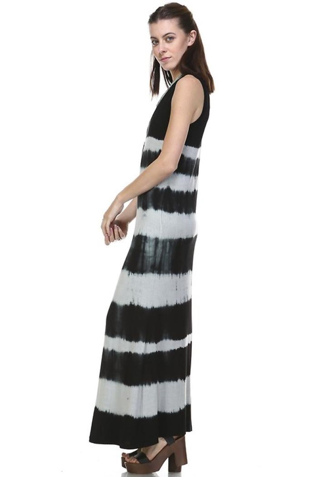 People Outfitter Ombre Maxi Dress - Front Full Image