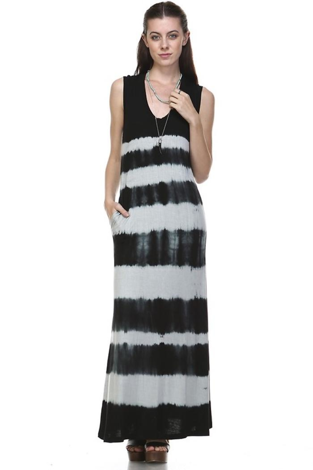 People Outfitter Ombre Maxi Dress - Main Image