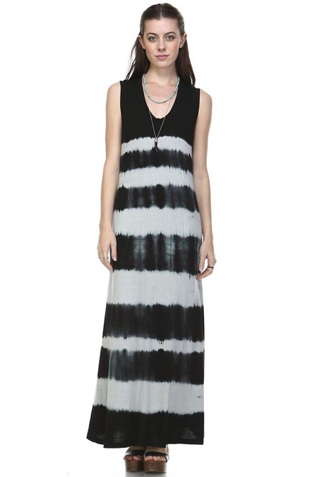 People Outfitter Ombre Maxi Dress - Side Cropped Image