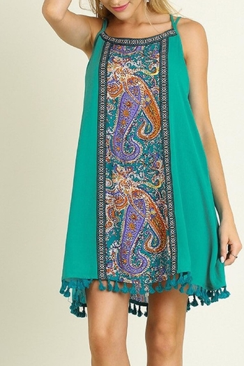 People Outfitter Paisley Embroidery Dress from New York — Shoptiques