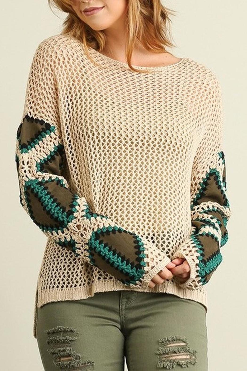 People Outfitter Patch Me Sweater - Main Image