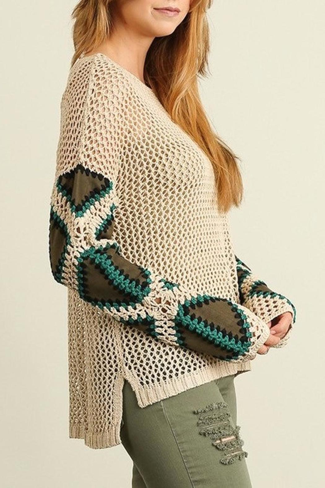 People Outfitter Patch Me Sweater - Front Full Image