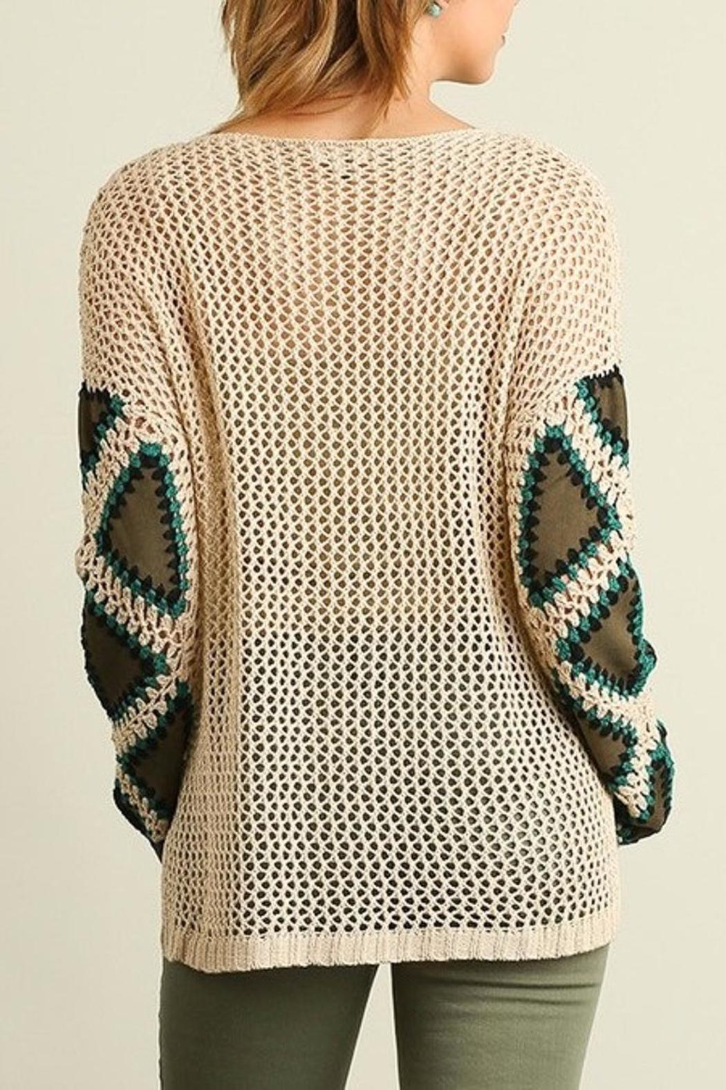 People Outfitter Patch Me Sweater - Side Cropped Image
