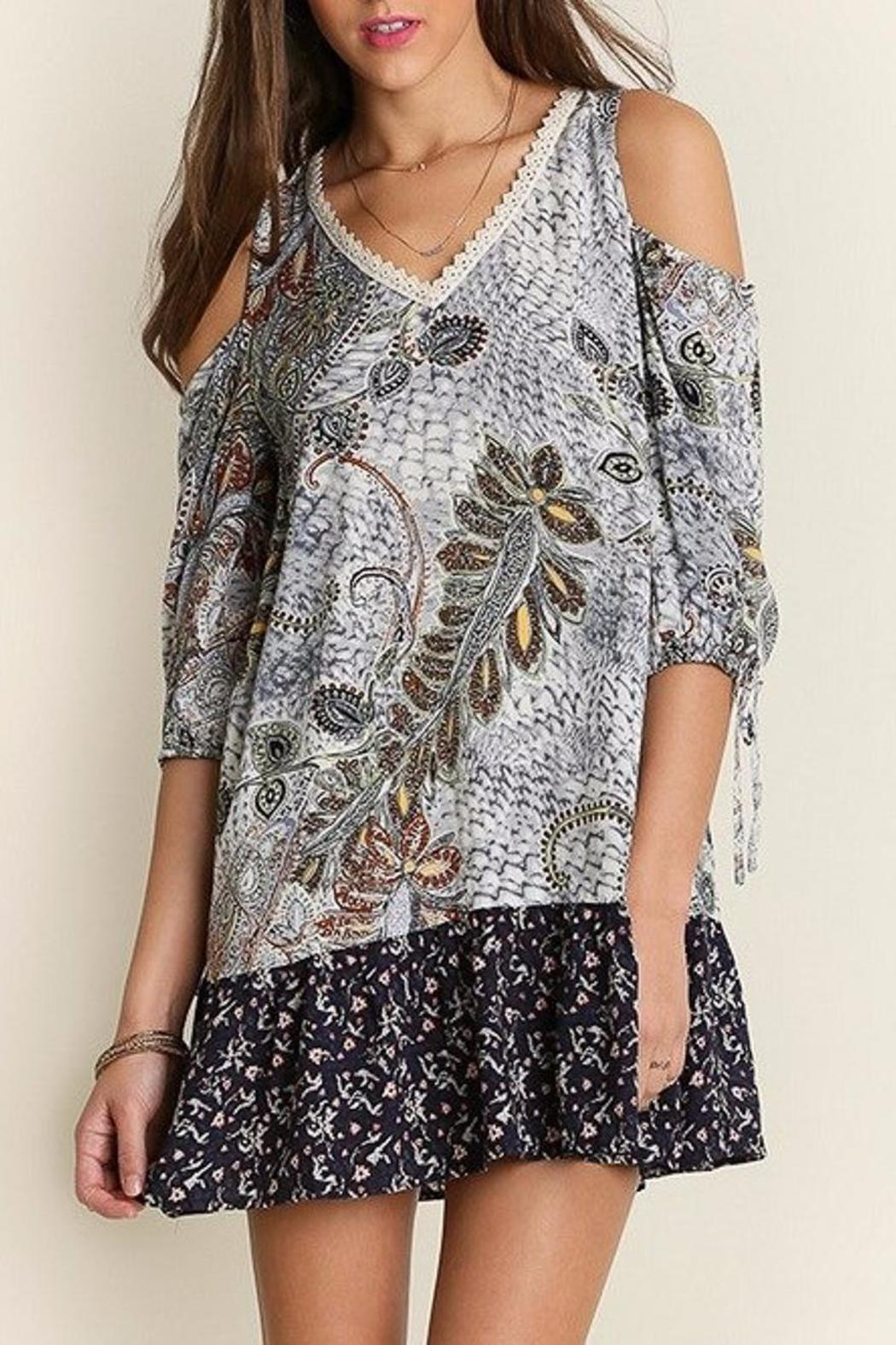 People Outfitter Perfect Print Dress - Main Image