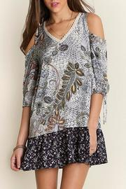 People Outfitter Perfect Print Dress - Front cropped