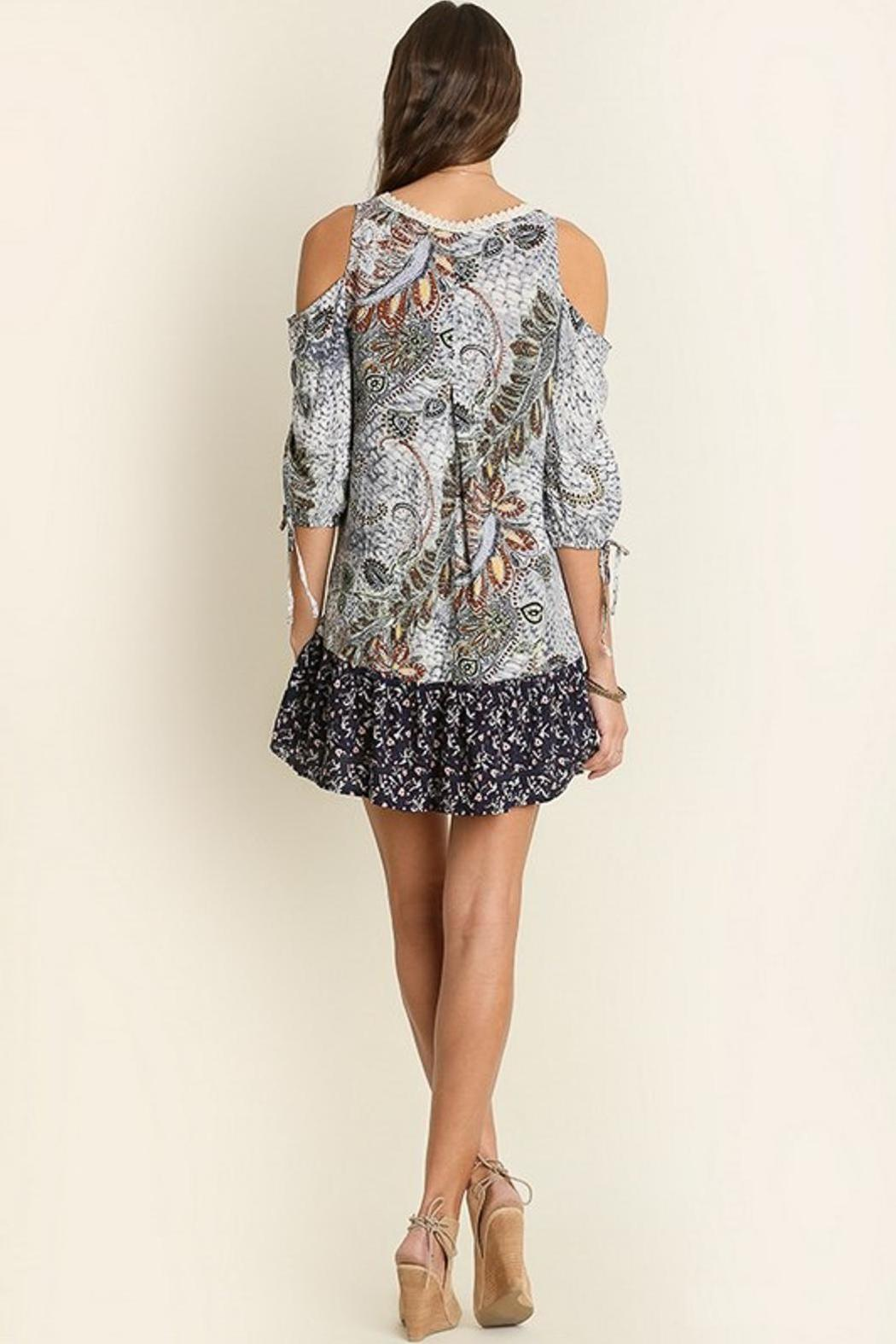 People Outfitter Perfect Print Dress - Front Full Image