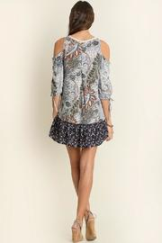 People Outfitter Perfect Print Dress - Front full body
