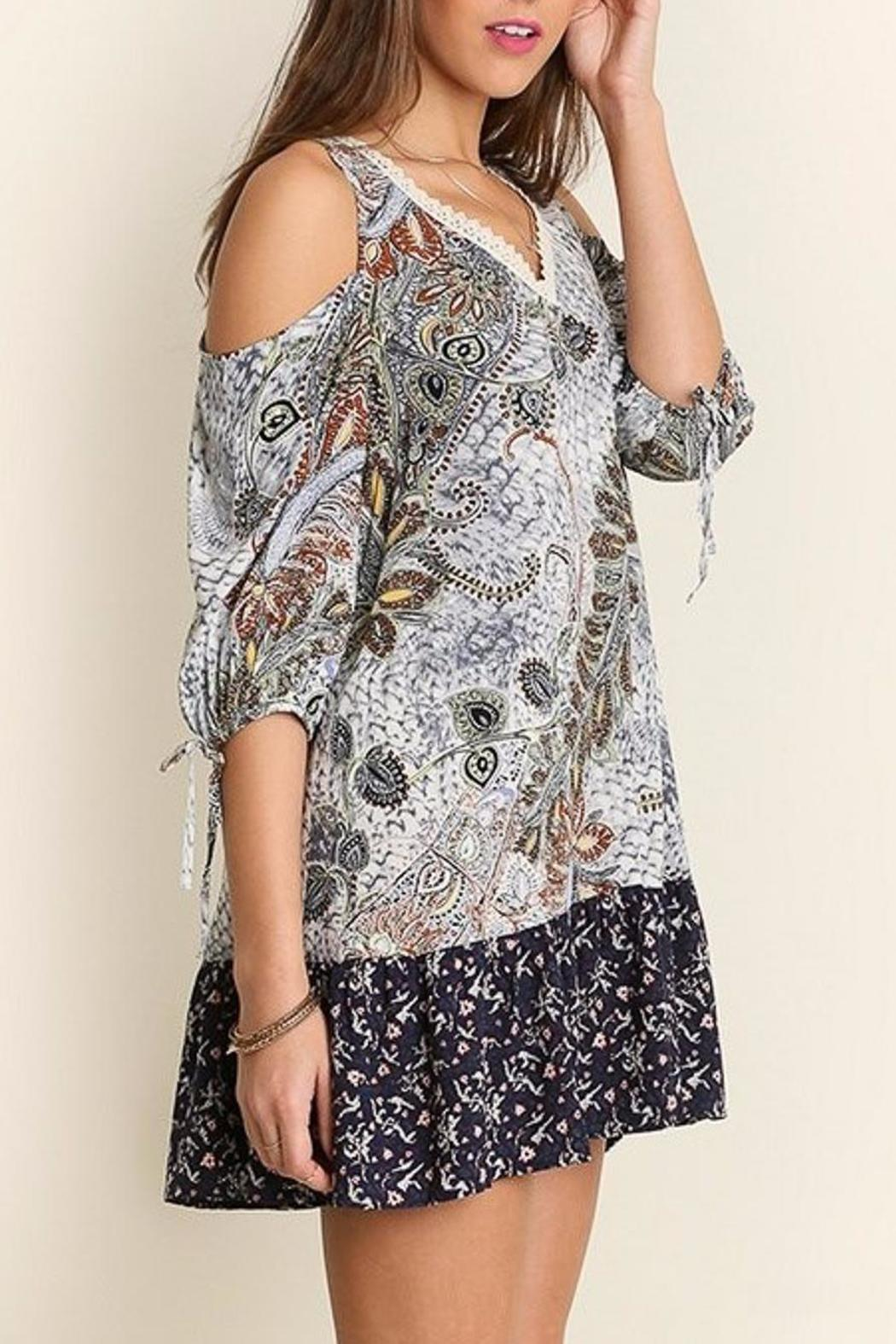 People Outfitter Perfect Print Dress - Side Cropped Image