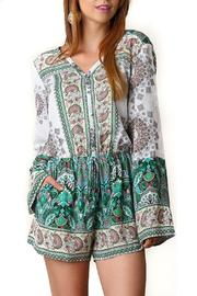 People Outfitter Pretty And Free Romper - Product Mini Image