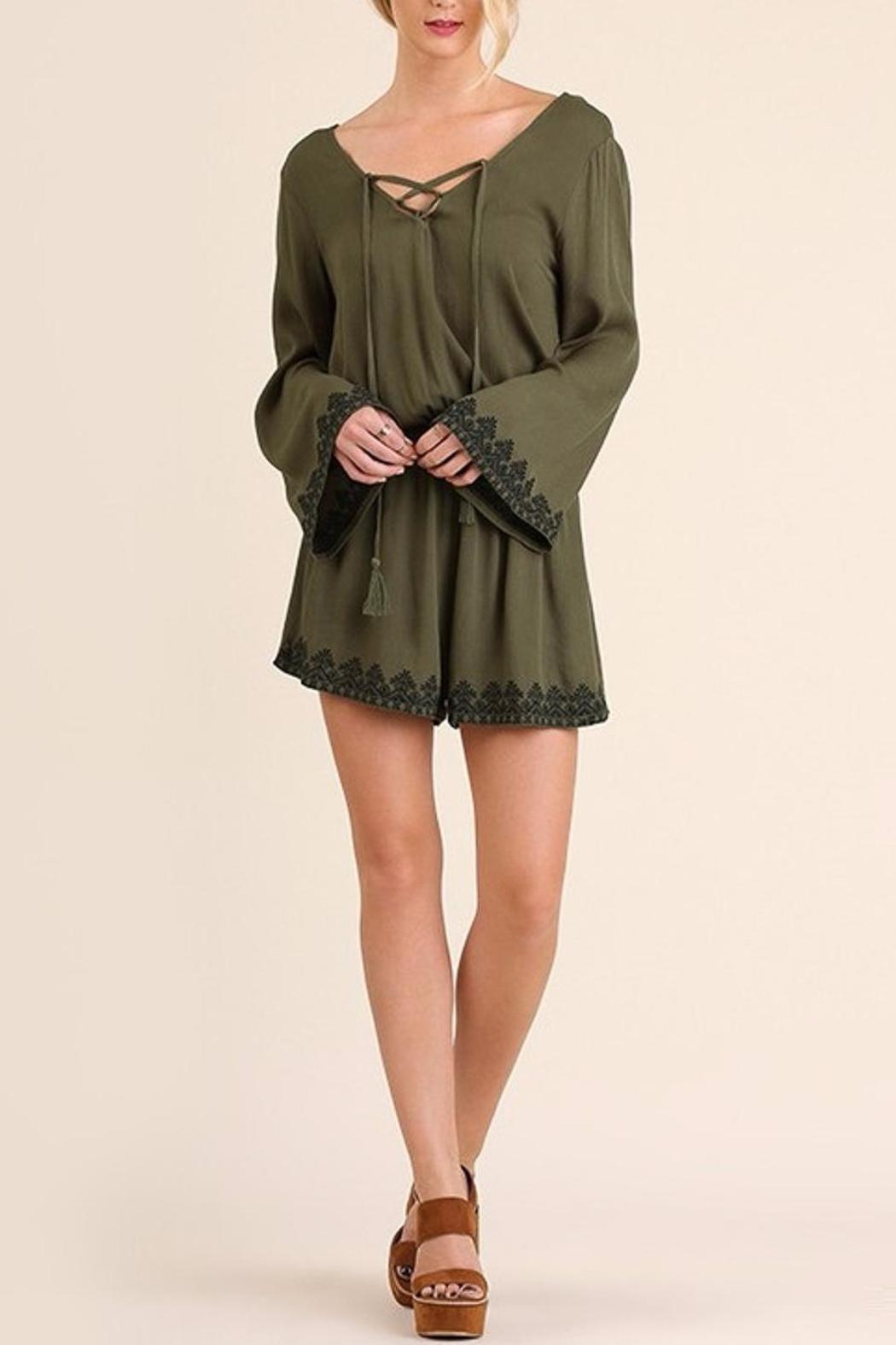 People Outfitter Pretty n Free Romper - Main Image