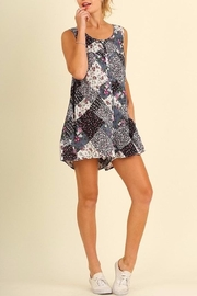 People Outfitter Pretty Print Romper - Product Mini Image