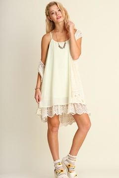 People Outfitter Racerback Lace Dress - Product List Image
