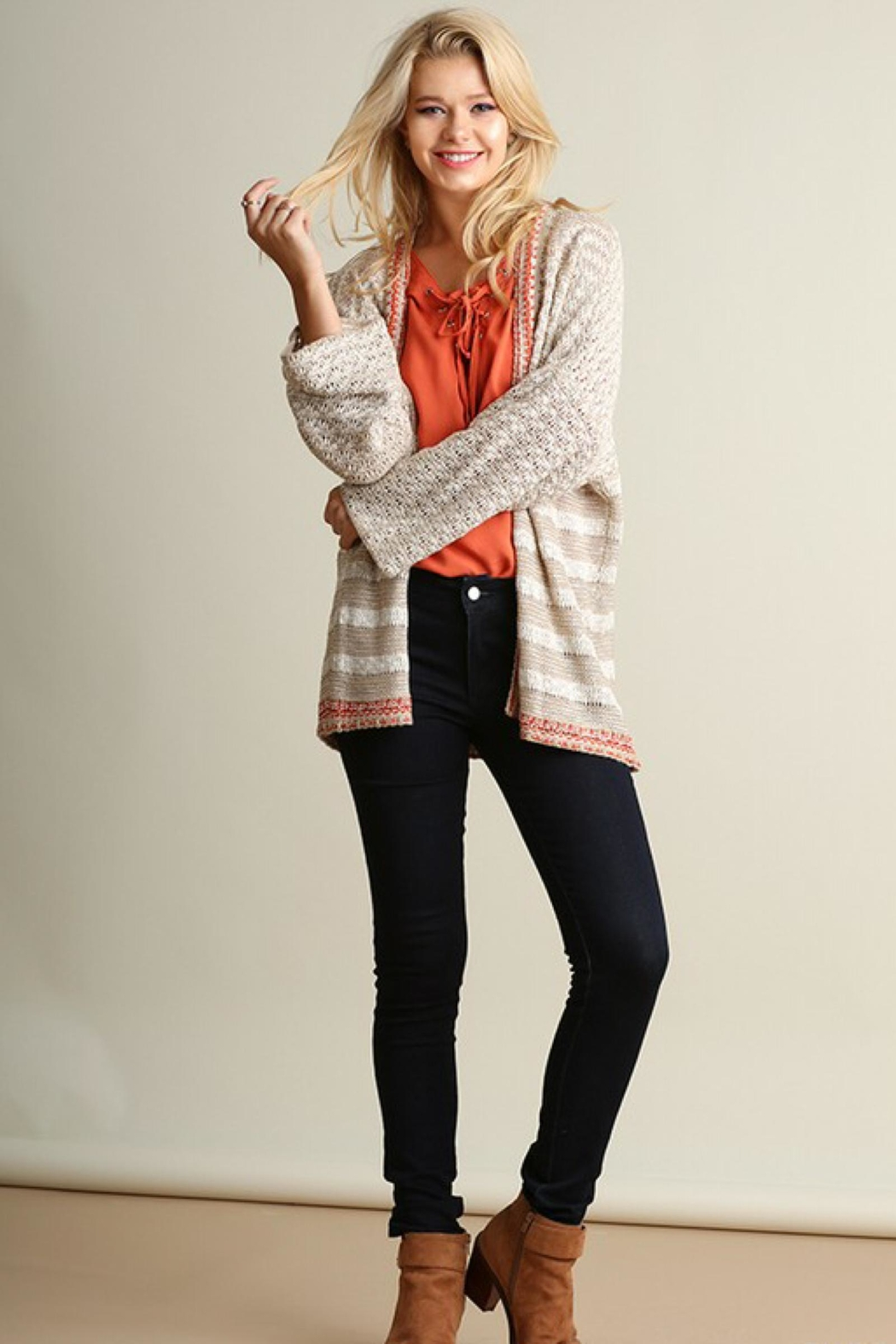 People Outfitter Relaxed-Fit Knit Cardigan - Main Image