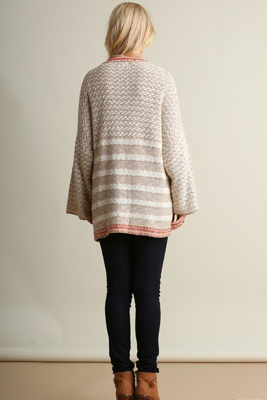 People Outfitter Relaxed-Fit Knit Cardigan - Side Cropped Image