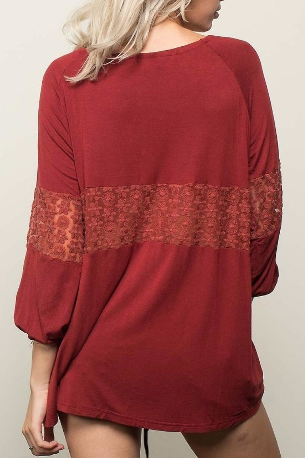 People Outfitter Retro Romance Top - Side Cropped Image