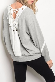 People Outfitter Reversible Sweatshirt - Product Mini Image