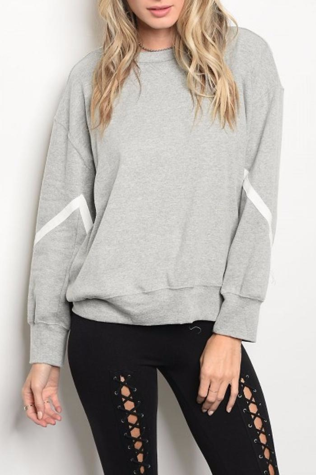 People Outfitter Reversible Sweatshirt - Front Full Image