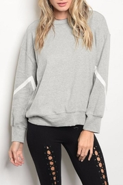 People Outfitter Reversible Sweatshirt - Front full body