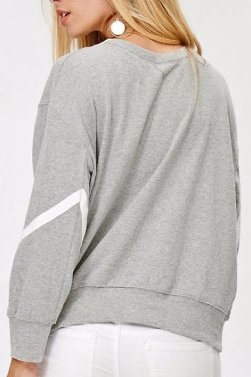 People Outfitter Reversible Sweatshirt - Side Cropped Image