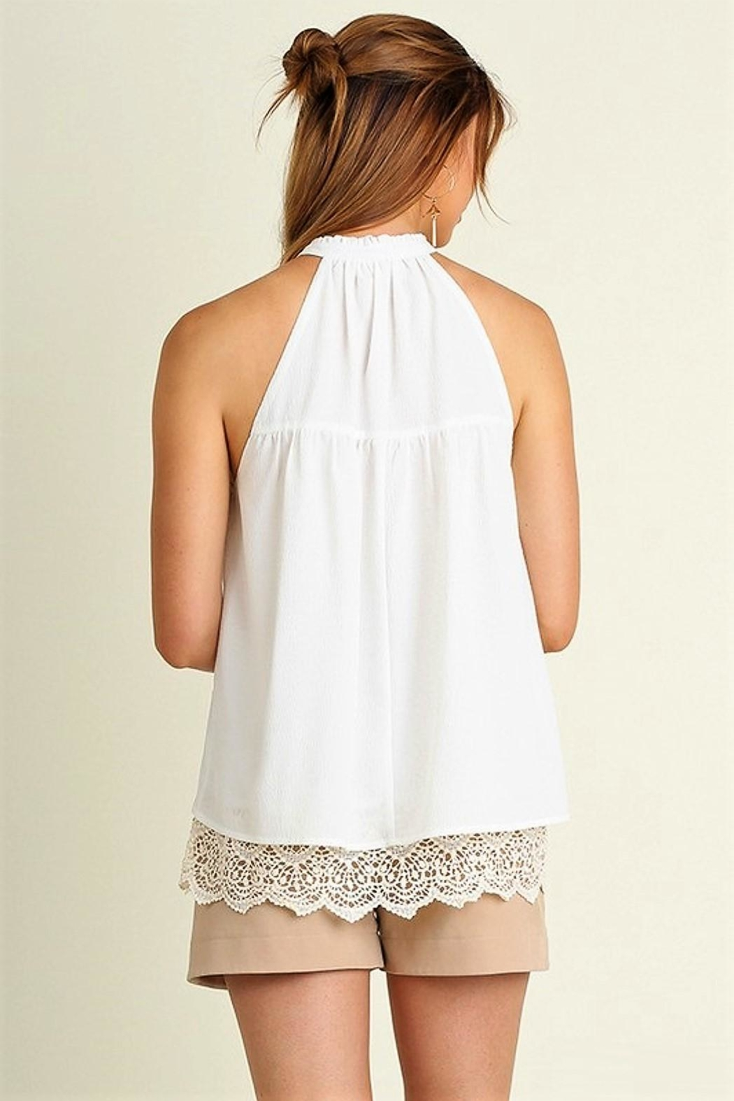 People Outfitter Rise N Shine Top - Back Cropped Image