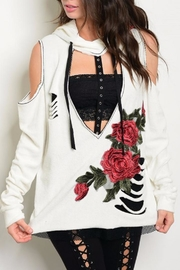 People Outfitter Rock'n Roses Sweatshirt - Product Mini Image