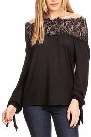 People Outfitter Sabrina Lace Top - Product Mini Image