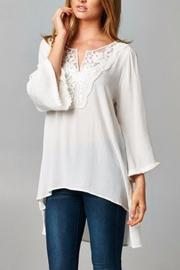 People Outfitter Sea Breeze Top - Front cropped