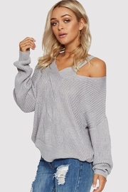 People Outfitter Silver Light Top - Back cropped