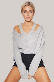People Outfitter Silver Light Top - Front cropped