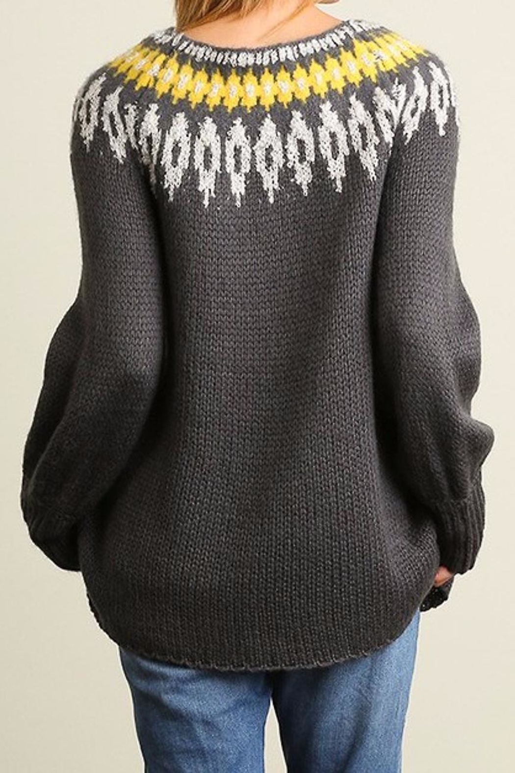 People Outfitter Snow Day Sweater - Front Full Image