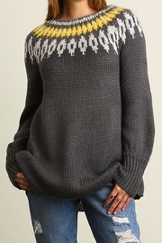 People Outfitter Snow Day Sweater - Front cropped
