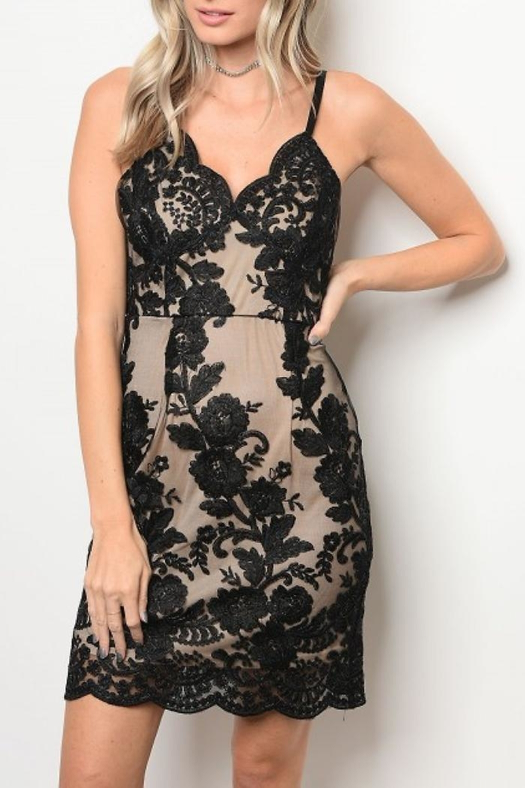 People Outfitter Sophie Lace Dress - Main Image