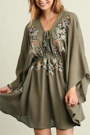 People Outfitter Starlight Embroidery Dress - Product Mini Image