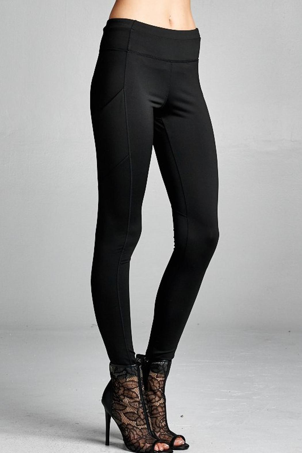 People Outfitter Street Yoga Pants - Main Image