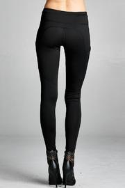 People Outfitter Street Yoga Pants - Back cropped