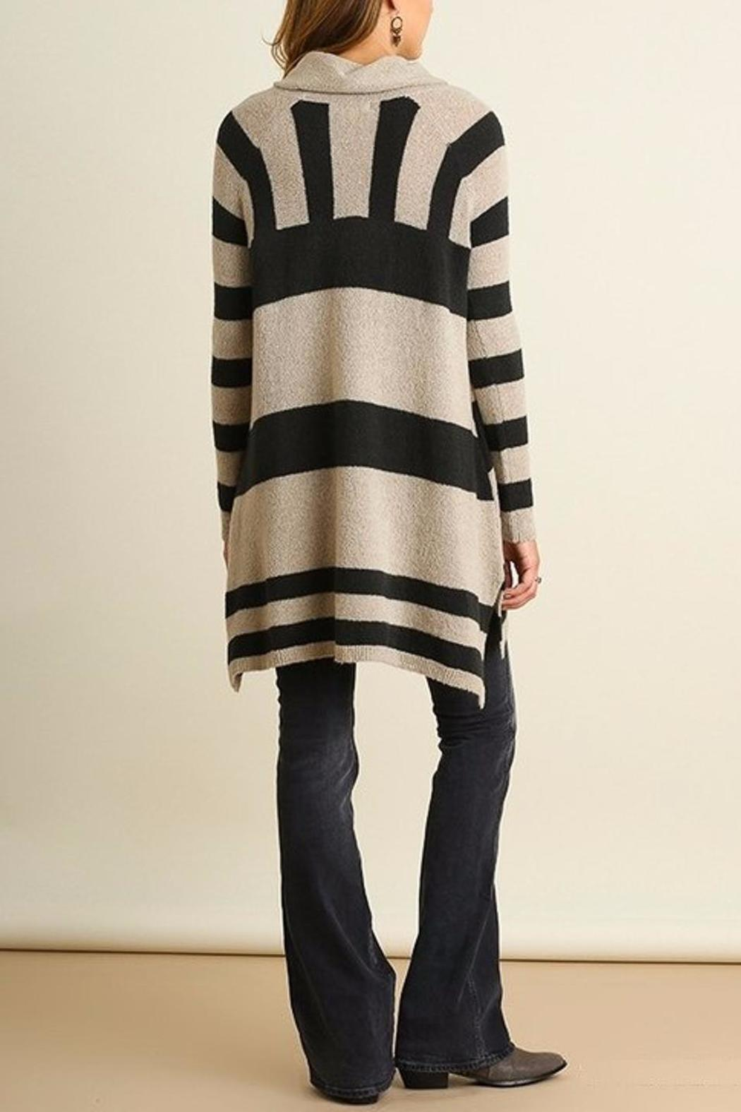 People Outfitter Stripe Knit Tunic - Front Full Image