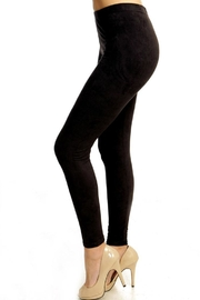 People Outfitter Suede Leggings - Product Mini Image