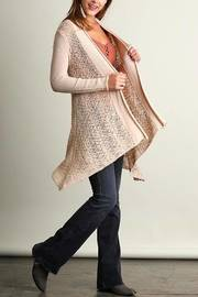 People Outfitter Sweater Knit Cardigan - Side cropped
