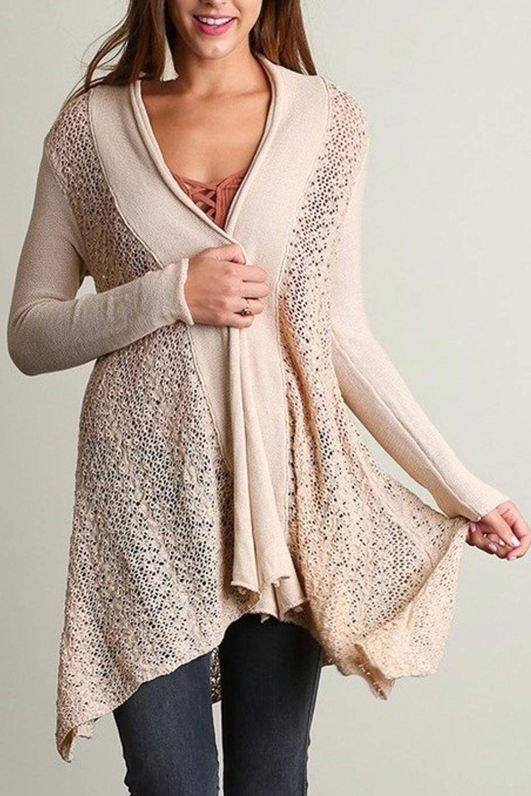 People Outfitter Sweater Knit Cardigan - Main Image