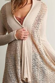 People Outfitter Sweater Knit Cardigan - Front full body
