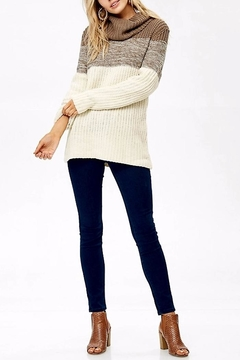 People Outfitter Sweet Vanilla Sweater - Alternate List Image