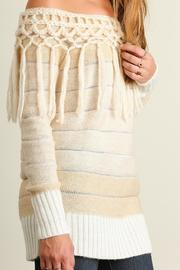 People Outfitter Tassels Tunic Sweater - Other