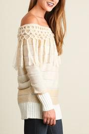 People Outfitter Tassels Tunic Sweater - Side cropped