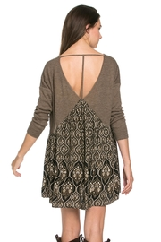 People Outfitter Taupe Tunic Dress - Side cropped