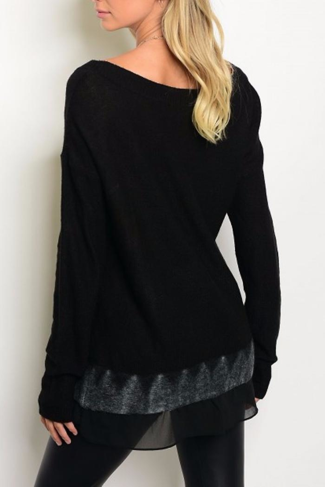 People Outfitter The Dream Sweater - Front Full Image