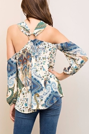 People Outfitter Limelight Paisley Top - Side cropped