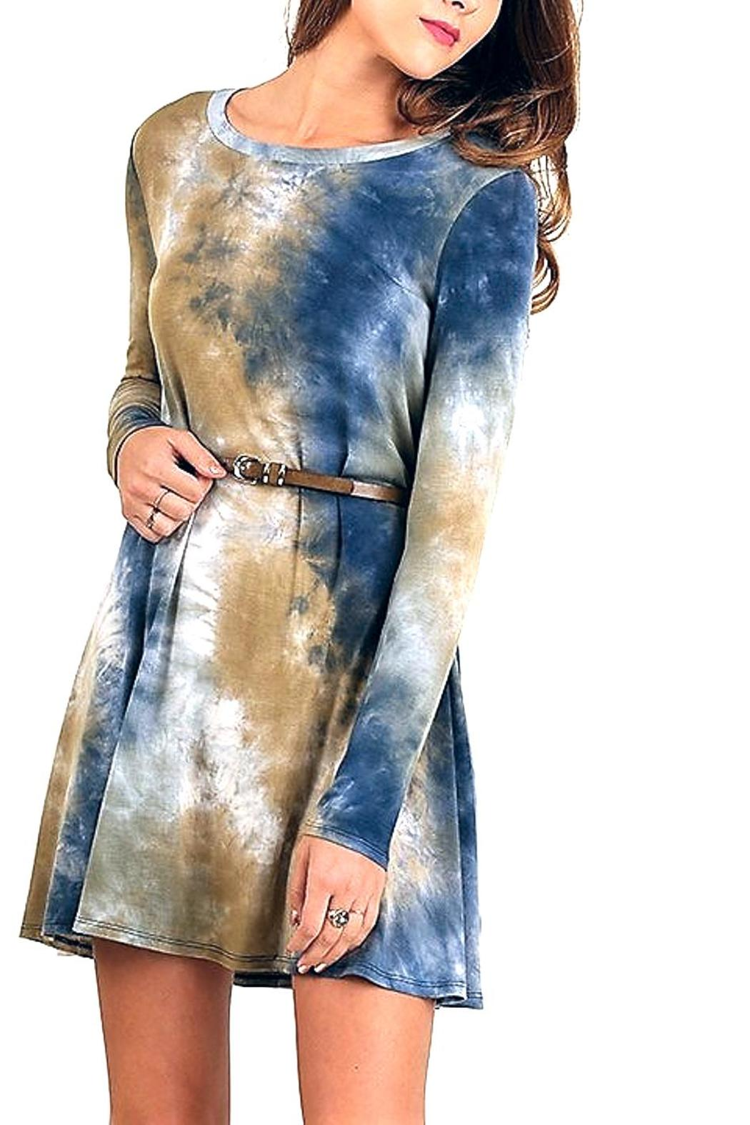 People Outfitter Tie Dye Dress - Main Image